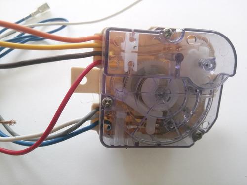 reloj lavado mabe / easy 7 cables led-41045112-0