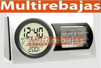 reloj lcd de péndulo giratorio para casas u oficinas