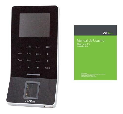 reloj lector huellas zkteco f22 wifi acceso biometrico tarje