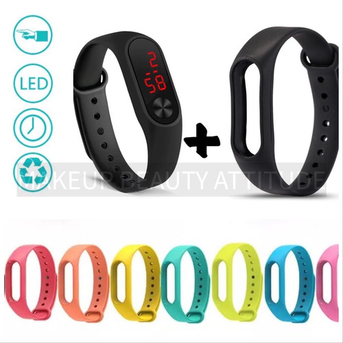 reloj led digital deportivo unisex pulsera