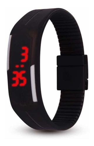 reloj led digital unisex