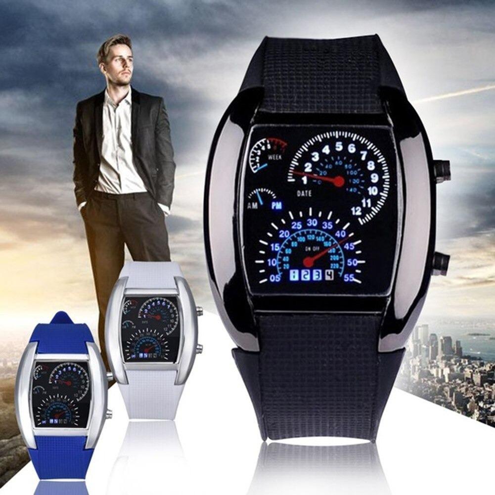 edde2012fb27 Reloj Led Hombre Digital Rapido Furioso Carro Moda Caballero -   359.00 en  Mercado Libre