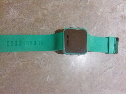 reloj led watch nuevo con istructibo