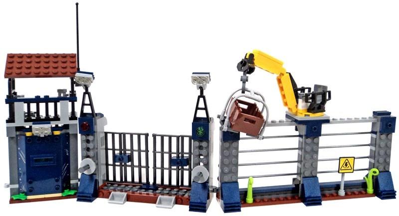 Reloj Lego Lego Jurasico Mundo Caido Unido Outpost Con Atal ...