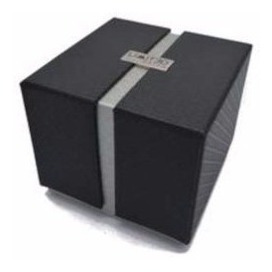 reloj limited 88-109-3 negro/nranja para caballero+ obsequio