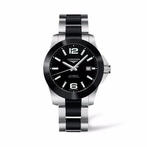 reloj longines conquest automático l36574567 hombre original