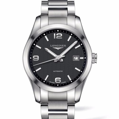 reloj longines conquest classic l27854566 hombre | original