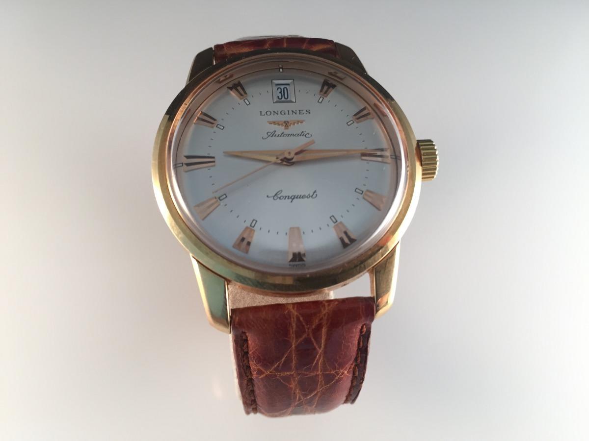 21ebc02ae78d Reloj Longines Conquest De Oro Amarillo 18kt