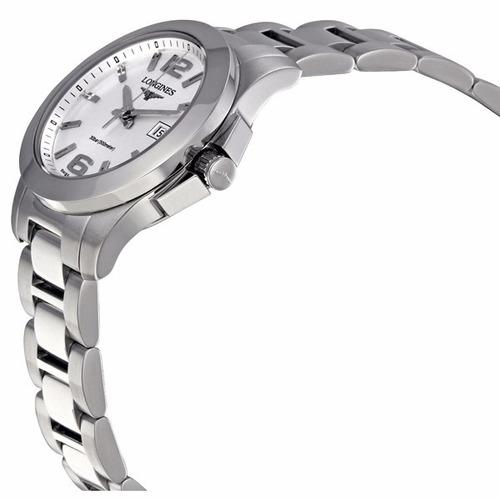 reloj longines conquest l32774766 mujer | envío gratis