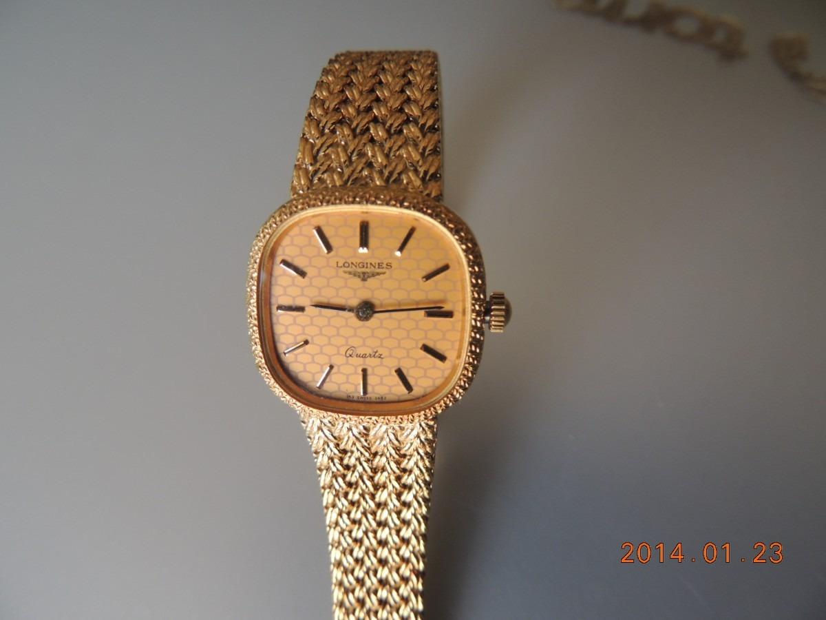 Reloj Longines De Cuarzo Para Mujer 510 000 En