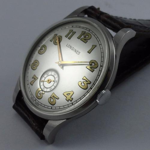 reloj longines dec 40, 37mm acero,hombre,c/nuevo,garantia