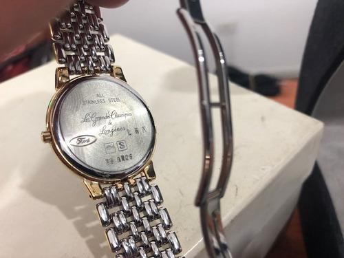 reloj longines les grandes classiques oro 18k garantia factu
