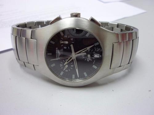 reloj longines oposition chronograph - excelente estado!