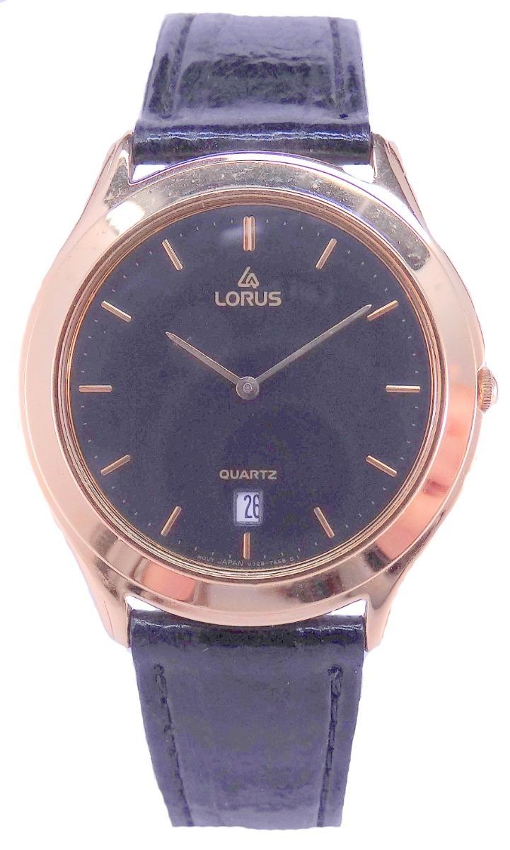 c181cb2794b6 reloj lorus by seiko quartz acero dorado calendario garantía. Cargando zoom.