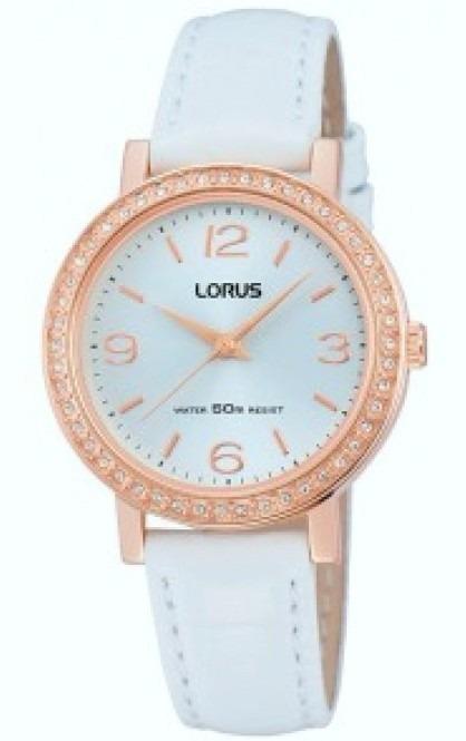 49fb781ef7dc Reloj Lorus By Seiko Rg202jx-9 Quartz Dama Swarovski Garant ...