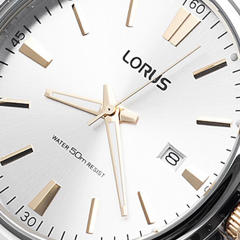 aac3526ae37f reloj lorus by seiko rs915ax9 acero inoxidable dorado 50m. Cargando zoom.