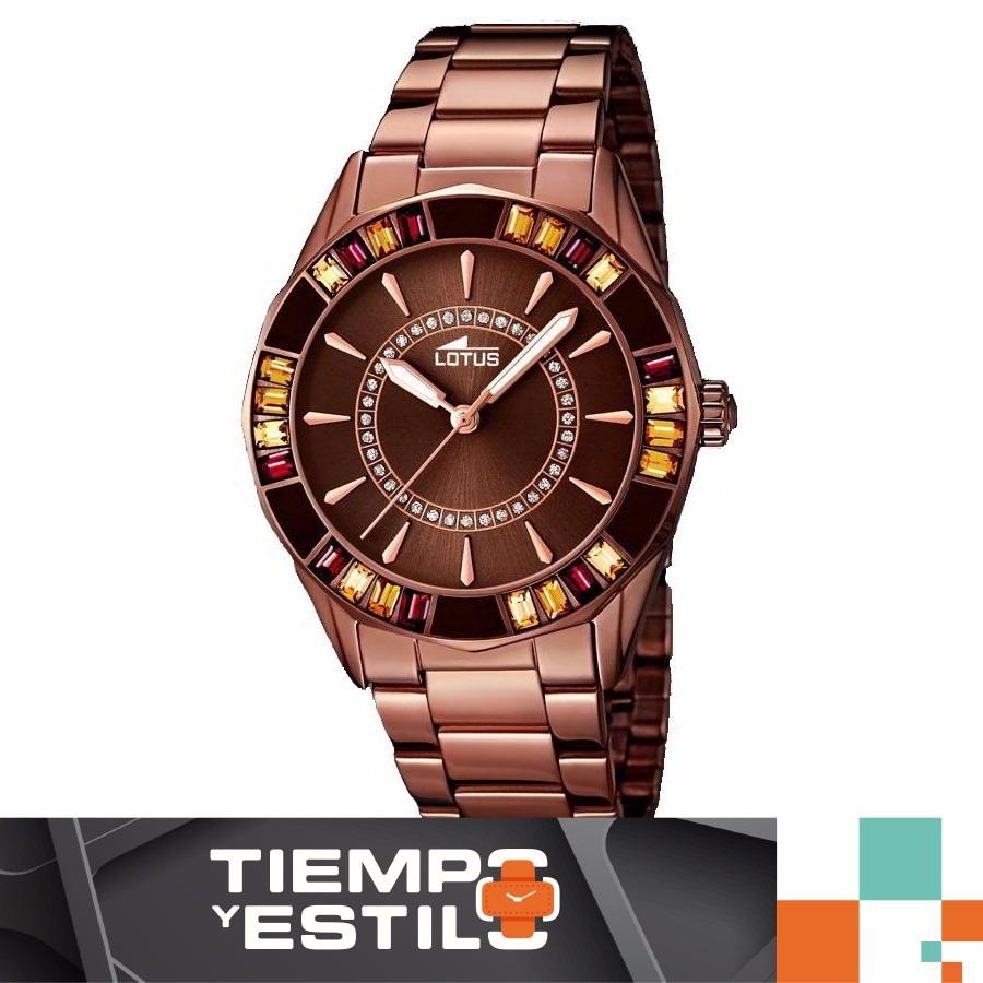 8f0c009789c8 Reloj Lotus 158943 Acero Marrón