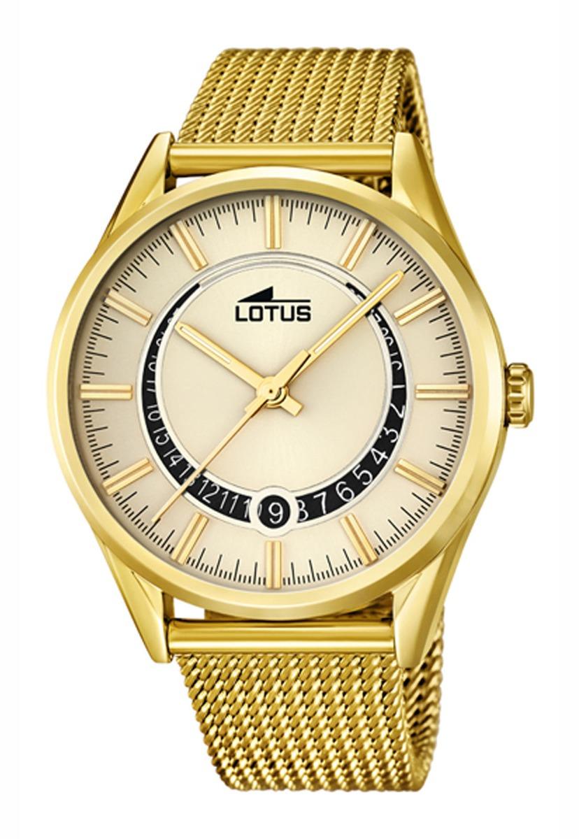 7ba00f0e0ef6 Reloj 15976 1 Dorado Lotus Hombre Minimalist -   104.000 en Mercado ...