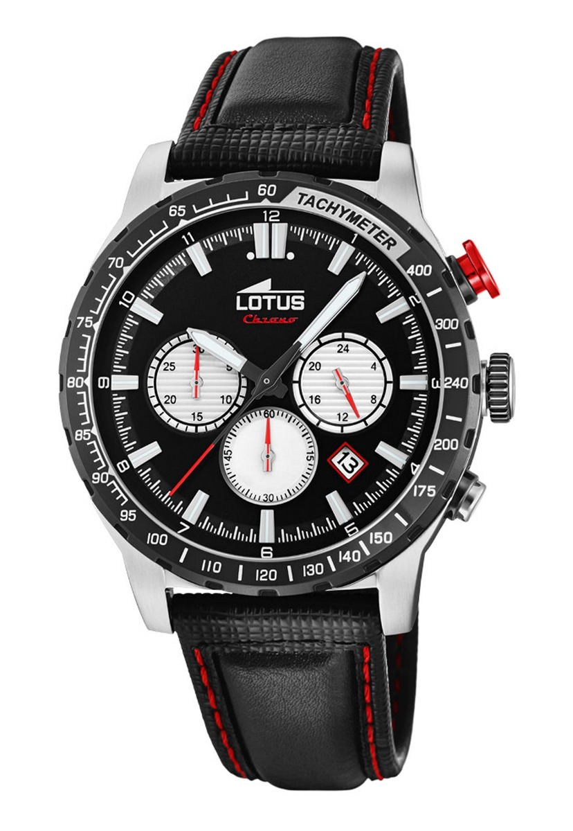 ce93248999f2 Características. Marca Lótus  Modelo Reloj 18587 1 Negro Lotus Hombre ...