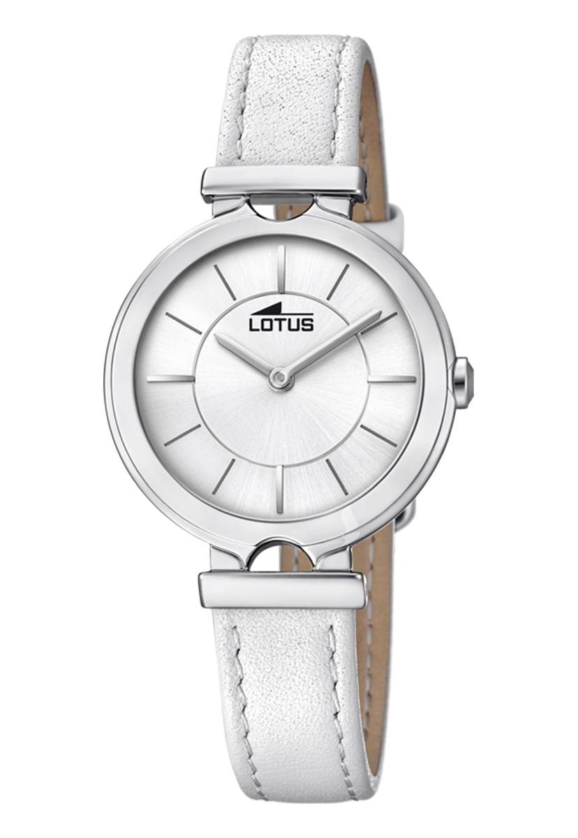 b6e970d09001 Características. Marca Lótus  Modelo Reloj 18451 1 Blanco Lotus Mujer ...