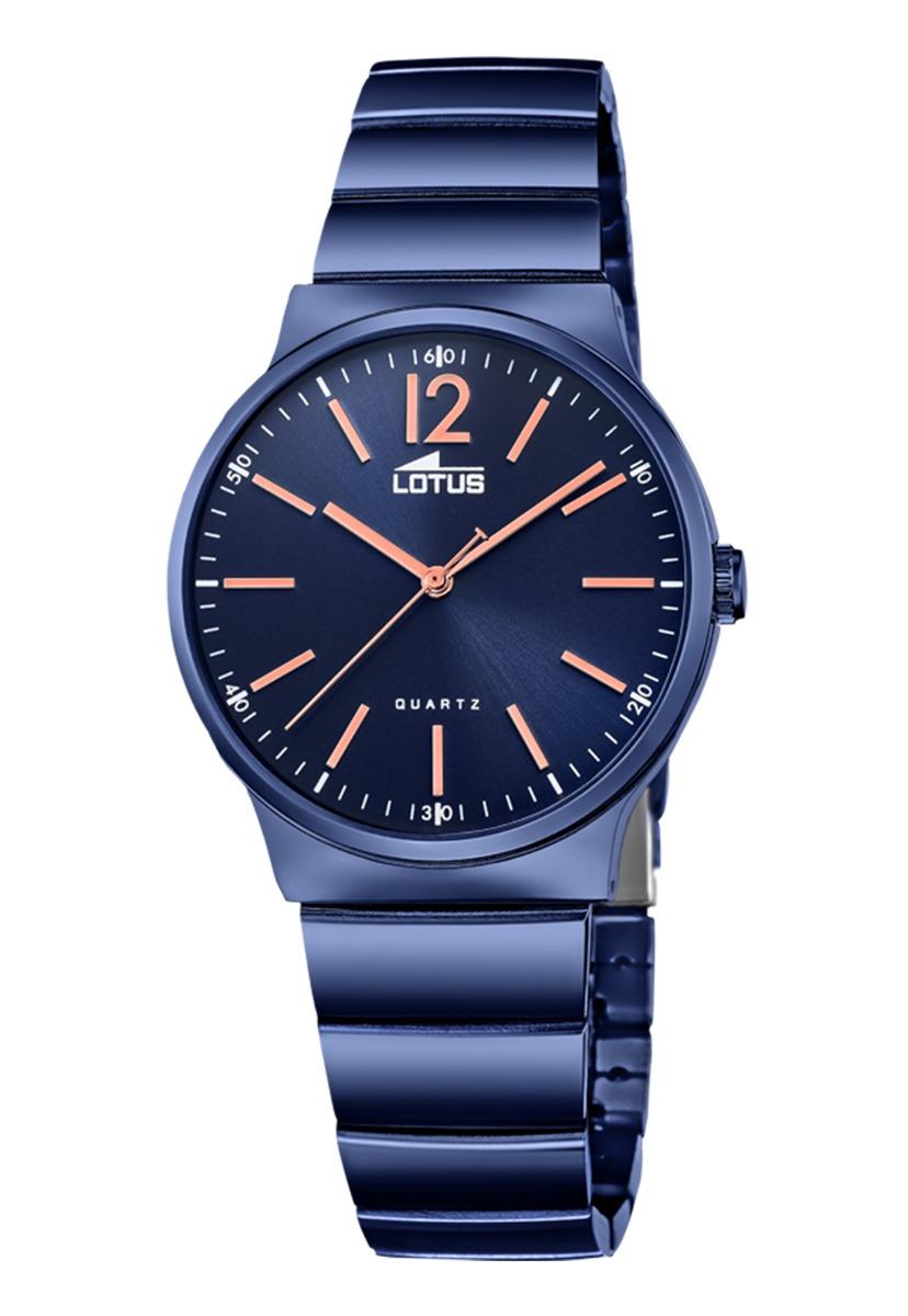 1894ed9860af Características. Marca Lótus  Modelo Reloj 18471 2 Azul Lotus Mujer ...