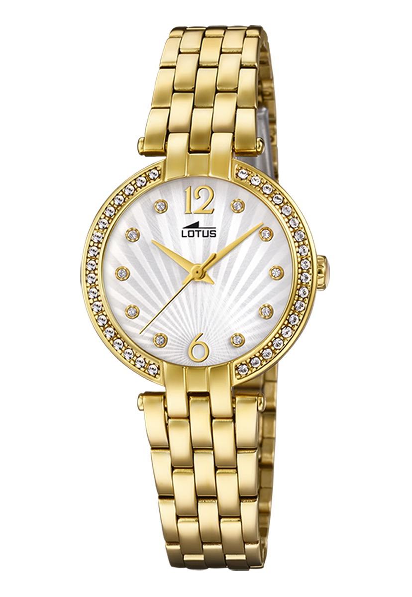 b6d80f85bb04 Características. Marca Lótus  Modelo Reloj 18381 1 Dorado Lotus Mujer Bliss  ...