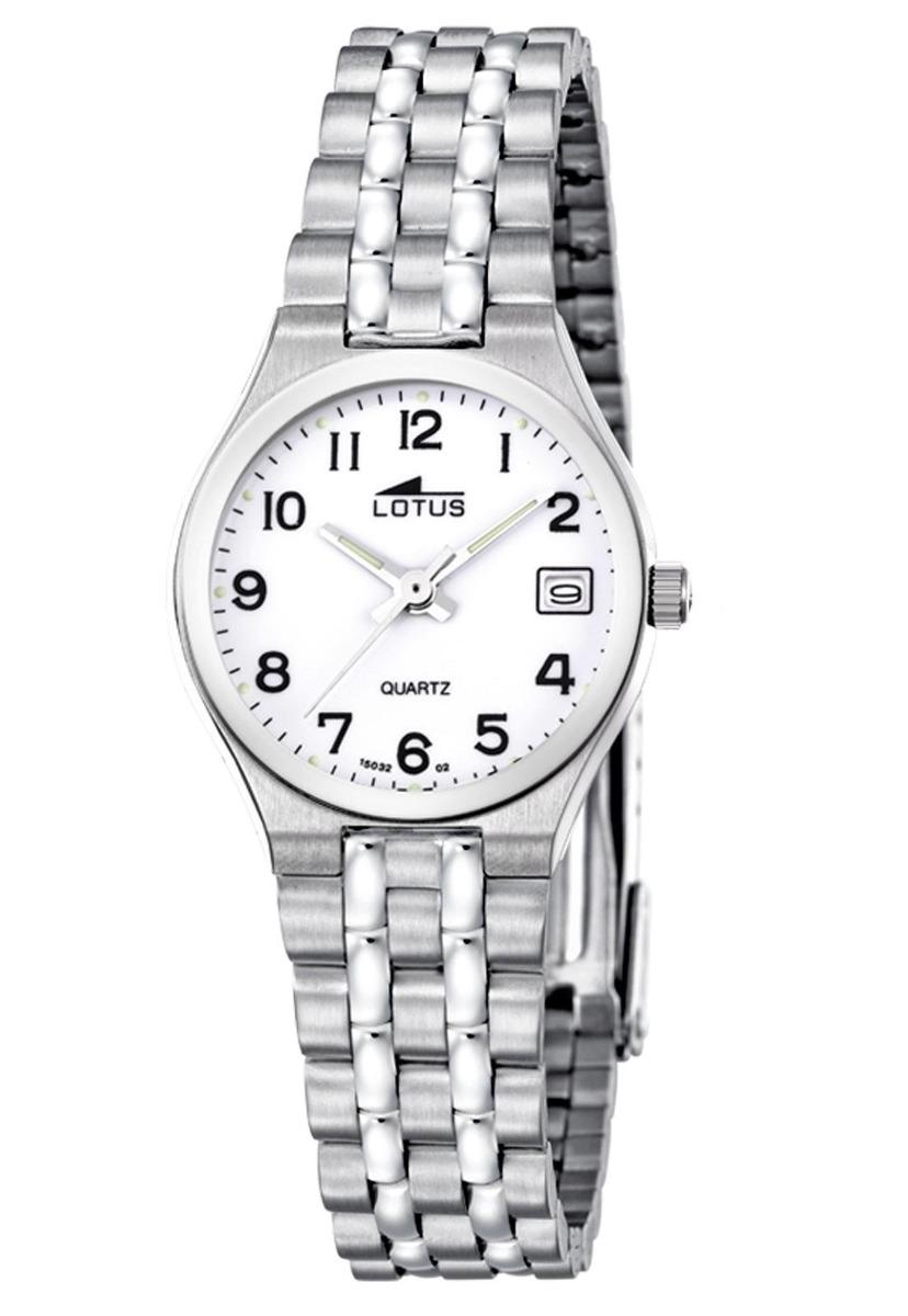 bb80edad4bc3 Características. Marca Lótus  Modelo Reloj 15032 2 Plateado Lotus Mujer Acero  Clasico ...