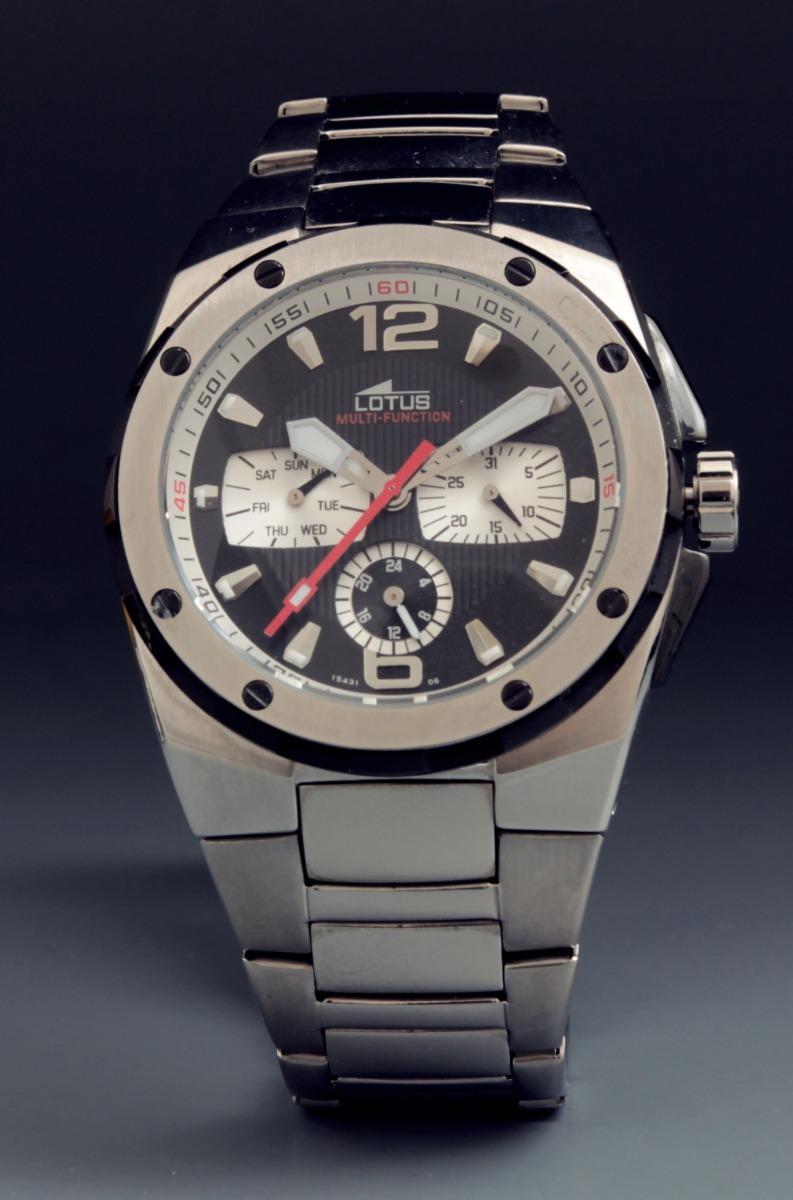 7ad22386f60b Reloj Lotus Multifuncion Nuevo Garantia Y Estuche