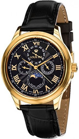 0c0832a3b Reloj Louis Xvi Para Hombre, Negro Y Negro. Hecho En Suiza.