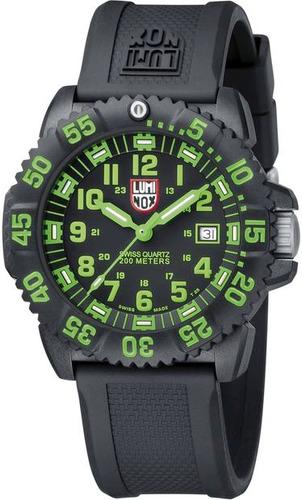 reloj luminox evo navy seal verde negro a.3067, garantia hm4