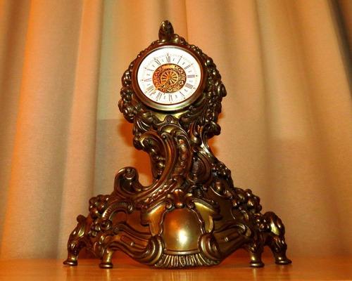 reloj made in italy estilo rococó simil antiguo
