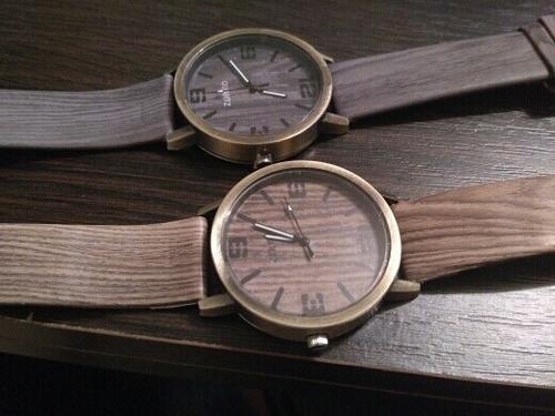 reloj madera retro vintage; envío gratis!