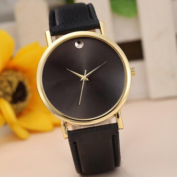 745ed217bf10 Reloj Mano Pulsera Agujas Cuero Retro Negro -   1.499