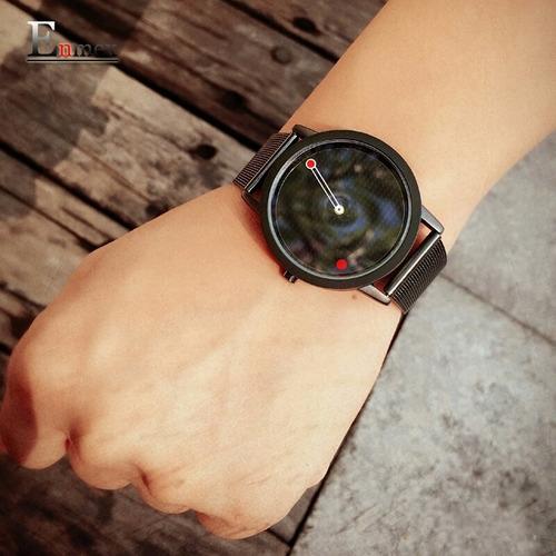 reloj marca enmex color negro
