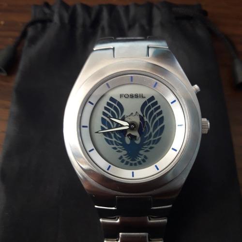 reloj marca fossil raro