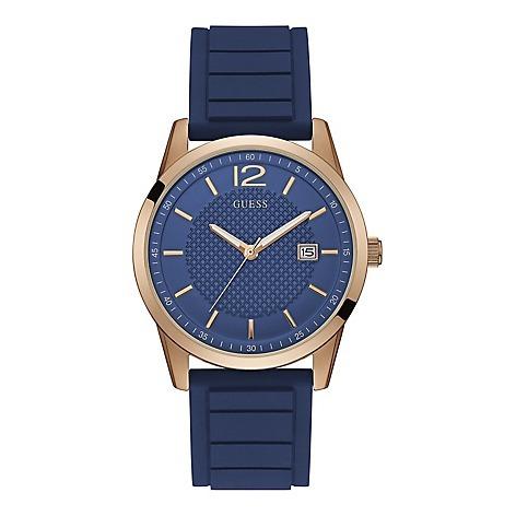 Para Moda Guess Fb Accesorios Hombre Marca Reloj Azul nwO0Pk