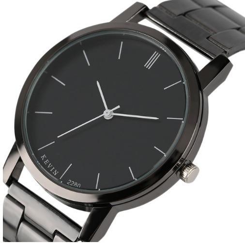 Reloj Metálico Diseño Elegante Marca Kevin Hombre Caballero ... 91837aaaaf25