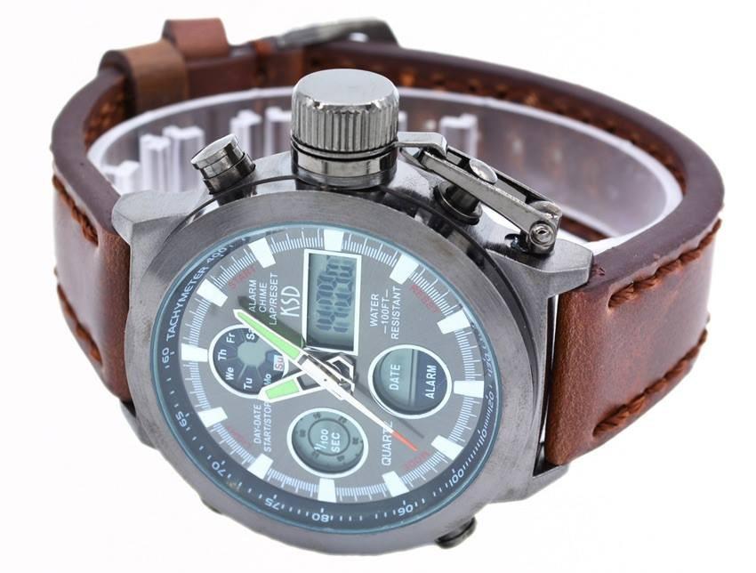 Reloj Marca Ksd De Lujo Para Hombre Tipo Militar 780