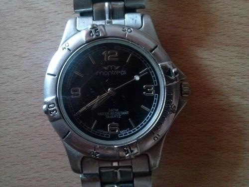 reloj marca montreal