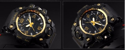 reloj marca skmei 1155 antishock militar tactico sumergible