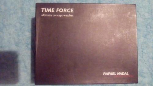 reloj marca time force edicion limitada rafael nadal