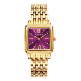 Reloj Mark Maddox Mujer De Lujo En Acero