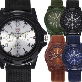 Caballero Campamento Militar Reloj Moda Padre Pz Mayoreo uTJl13FKc