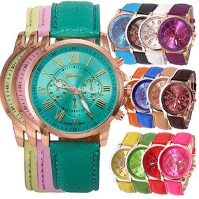 A578 Dama Mujer Rexmoda Mayoreo Vintage Reloj Moda Geneva KT3FclJ1