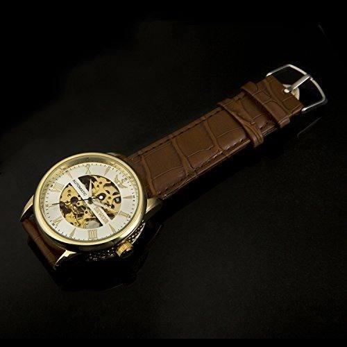 reloj mecánico automático de los hombres de sewor c1140 caja