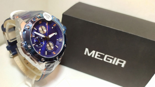 reloj megir analogo cuarzo naviforce casio curren