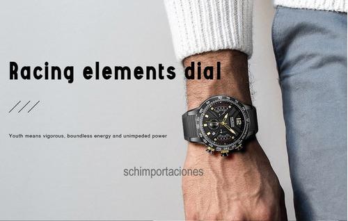 reloj megir modelo deportivo original cronógraf