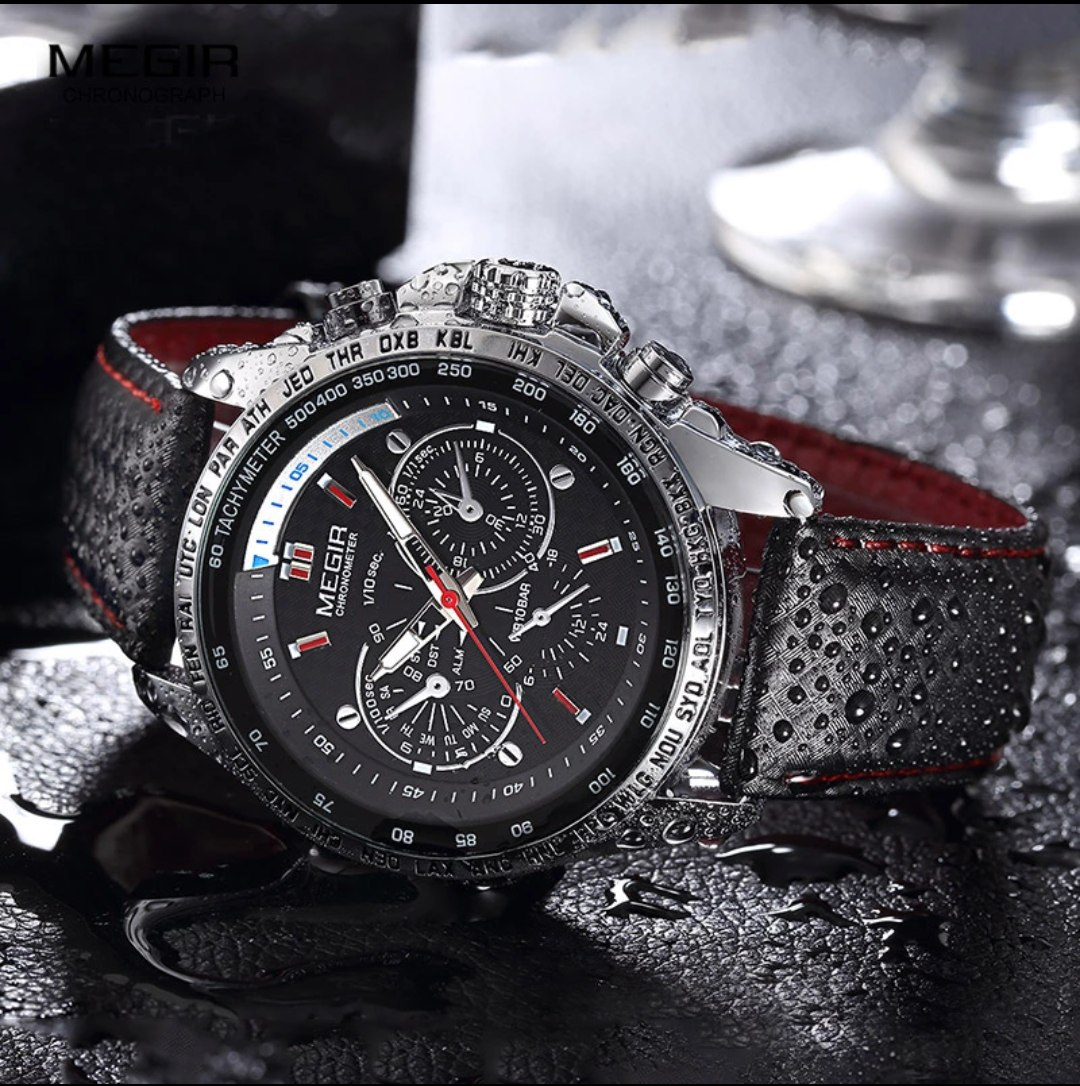 6075c052256e Reloj Megir Original -venta De Relojes Importados -   95.000 en ...
