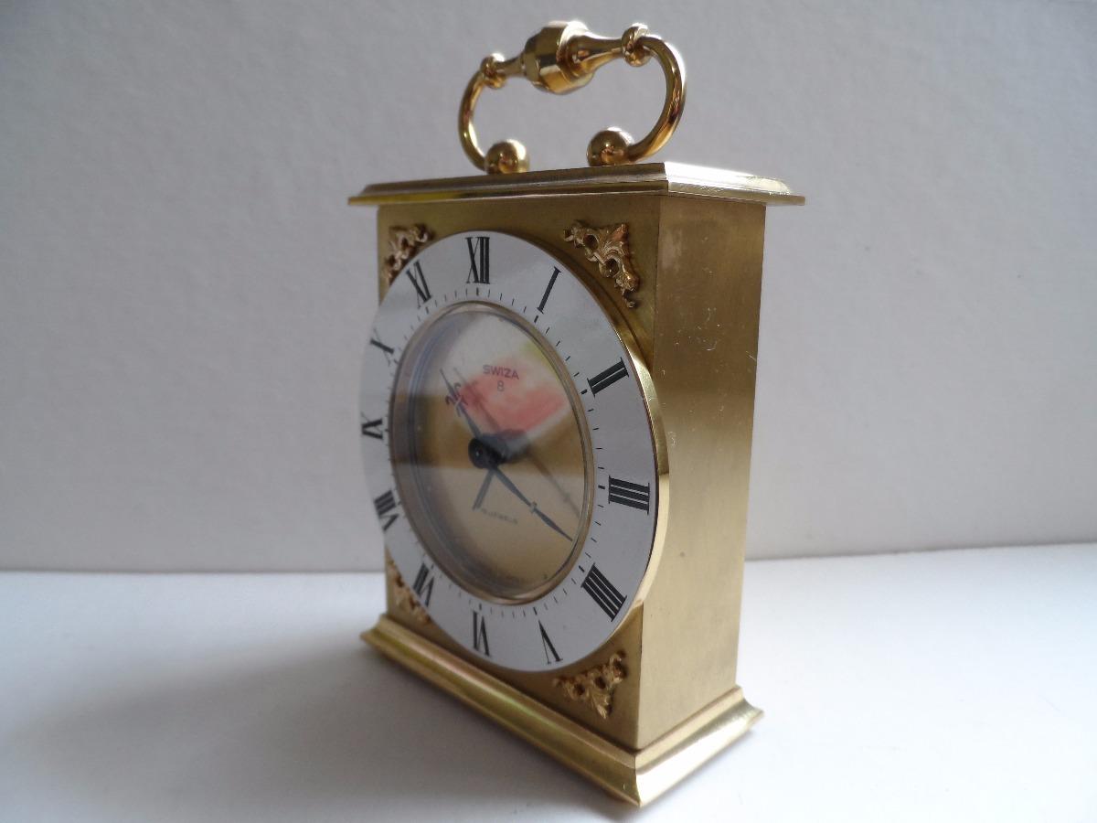b92b3d694772 Antiguo Reloj Mesa 8 Dias Estuche Original Como Nuevo -   2.200
