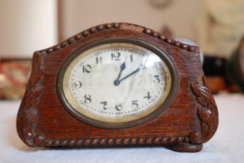 reloj mesa antiguo despertador a cuerda